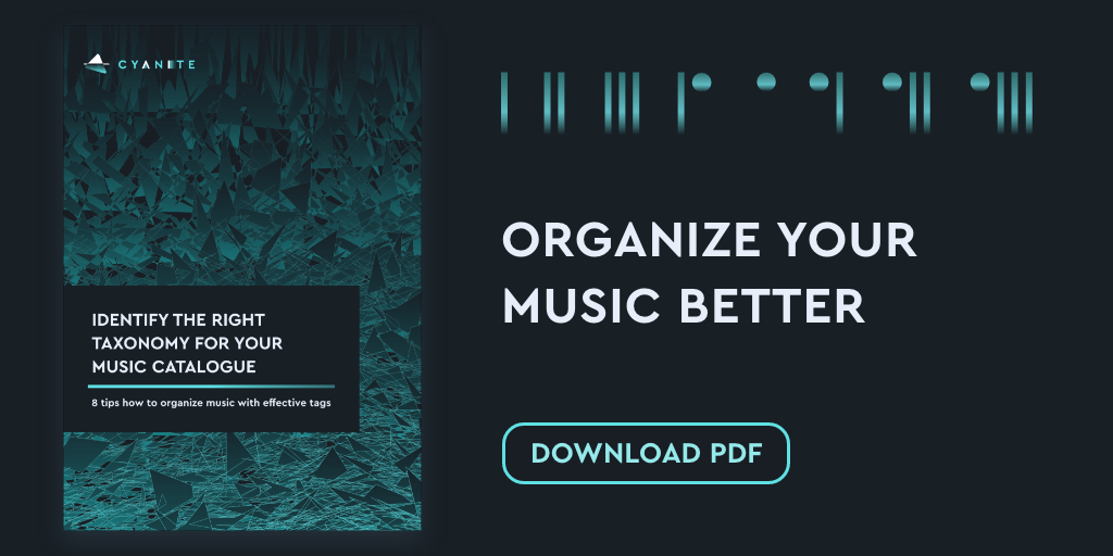 Free White Paper: 8 Tips How To Organize Your Music Catalog Better