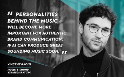 Cyanite Talks #2 with Vincent Raciti from TRO – About AI in sound branding